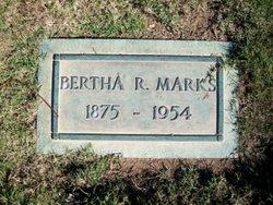 Bertha Rose <I>Welsh</I> Marks