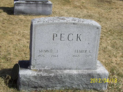 Minnie Ida <I>Graham</I> Peck