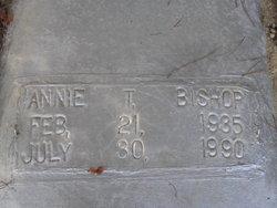 Annie Rose <I>Thomas</I> Bishop