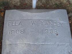 Ella W. Yancy