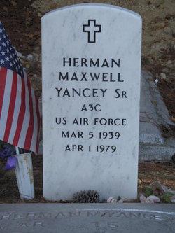 "Herman Maxwell ""Maxie"" Yancy, Sr."