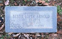 Bessie <I>Loper</I> Arnold