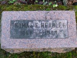 Thomas Edwin Headlee