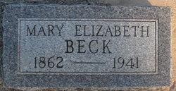 Mary Elizabeth <I>McGinley</I> Beck