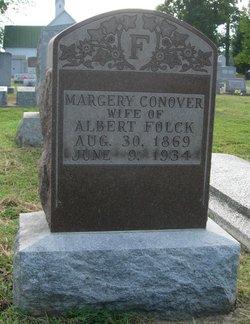Margery Lusk <I>Conover</I> Folck