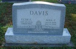 Elsie Ellen <I>Snider</I> Davis