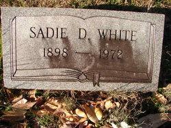 Sadie <I>Dennis</I> White