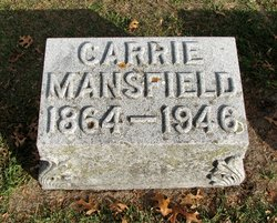 Carrie H <I>Carter</I> Mansfield