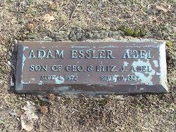 Adam Essler Abel, Sr