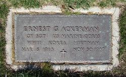 Ernest G. Ackerman