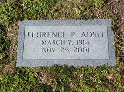 Florence <I>Powell</I> Adsit