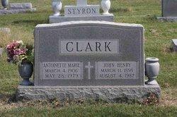Antoinette Marie Clark