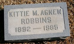 Kittie May <I>Agnew</I> Robbins