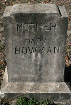 Mary Matilda <I>Carlton</I> Bowman
