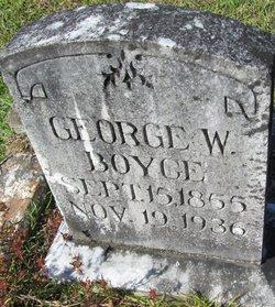 George W Boyce