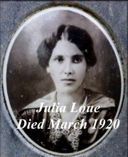 Julia P <I>Loue</I> Castro