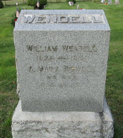 Anna Maria <I>Bidwell</I> Wendell