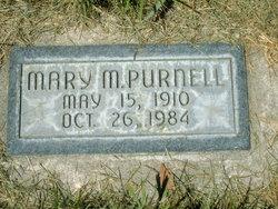 Mary <I>Markus</I> Purnell