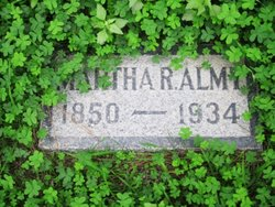 Martha Robinson Almy