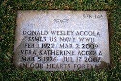 Donald Wesley Accola