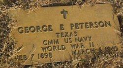 George E. Peterson