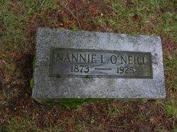 Nannie L. <I>Price</I> O'Neill