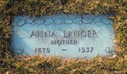 Anna <I>Shulda</I> Langer