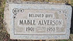 Mable <I>Lee</I> Alverson