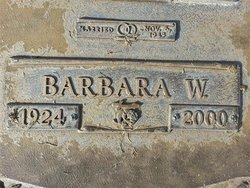 Barbara W. Chennault