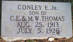 Conley E Thomas, Jr