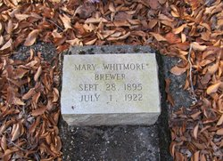 Mary Whitmore Brewer