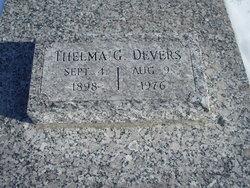Thelma Gladys <I>Stout</I> Devers