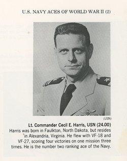 """Capt Cecil Elwood """"Speedball"""" Harris"""