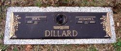 Jacqulyn Sue <I>Blevins</I> Dillard