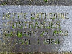 Hettie Catherine Ostrander