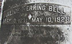 Alice <I>Herring</I> Bell