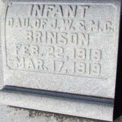 Infant Daughter Brinson