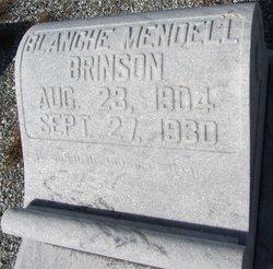 Blanche <I>Mendell</I> Brinson