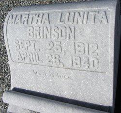 Martha Lunita Brinson