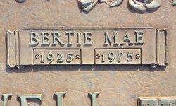 Bertie Mae <I>Crossley</I> Blackwell