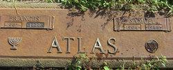 Frances <I>Jackelow</I> Atlas
