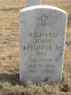 Richard John Affolter, Sr