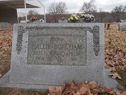 Hallie <I>Rhodes</I> Burcham