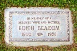 Edith Josephine <I>Beckman</I> Beacom