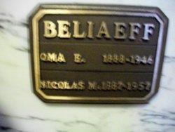 Oma Elizabeth <I>Woods</I> Beliaeff