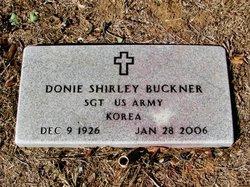 "Donie ""Shirley"" Buckner"