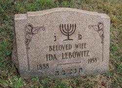 Ida Lebowitz