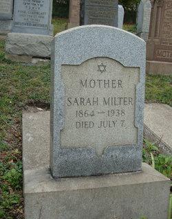 Sarah Milter