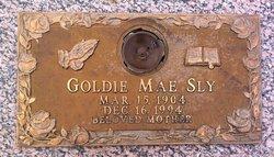 Goldie Mae <I>Swarer</I> Sly