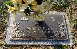 Janie Lee <I>Richardson</I> Furr